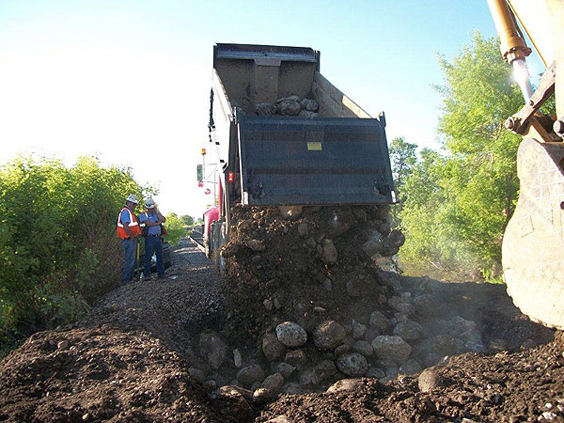 Images Of Our Work MJP Dump Truck